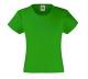 Girls Valueweight T , 160g, Kelly Green-Fű zöld