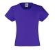 Girls Valueweight T , 160g, Purple-Lila
