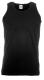 Athletic Vest, 165g, Black-Fekete férfi atléta