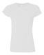 G 64000L Ladies' Fitted Ring Spun T white M, 140g,  női póló