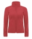 Hooded Softshell /women, Red-Piros